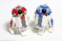 Lego Buildable Figures, Lego Mechs, Lego Worlds, R2 D2, Lego Models, Cool Lego, Lego Star Wars, Legos, Starwars