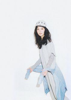 sola-nin:  佐々木希 for mini, 04/2014
