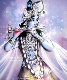 """madhavi_tuli: """"The bliss emanating from Kṛṣṇa's beautiful face saturates the whole universe with happiness. He displays charming emotions on His open, lovely lotus face, and the melody of His flute is being relished by His most beloved Sri Rādhā. Radha Krishna Pictures, Lord Krishna Images, Krishna Photos, Cute Krishna, Radha Krishna Photo, Krishna Art, Radhe Krishna Wallpapers, Lord Krishna Wallpapers, Lord Rama Images"""