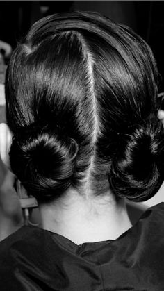 The baby buns I wore at Dior's Fall show are so easy to recreate. Watch Mane Addicts show you how!