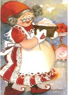 Postcrossing postcard from Finland Christmas Tea Party, Christmas Fairy, Christmas Love, Christmas Pictures, Christmas Snowman, All Things Christmas, Vintage Christmas, Christmas Cards, Christmas Feeling