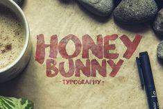 Honey Bunny Script Typeface by Pere Esquerrà on @creativemarket