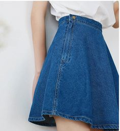 Denim Fashion, Look Fashion, Fashion Outfits, Ulzzang Fashion, Korean Fashion, Frack, Outfit Goals, Western Wear, Mini Skirts