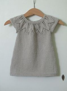 Project Gallery: Autumn Leaves Dress. Pattern by Nikki Van De Car. Ravelry.