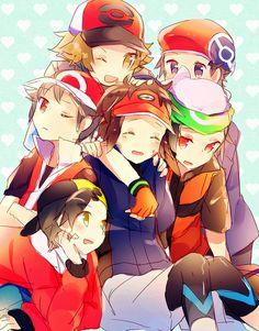 (Boy)Pokemon Trainers