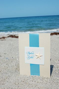 beach themed invitations | Beach Wedding Invitations | Modern Wedding Invitations Fun