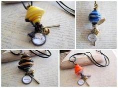 Button Stacks Necklaces, Wholesale Jewelry, 12 Pieces. $216.00, via Etsy.