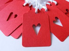 Simple Heart Gift Tags