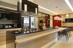 Here you will find photos of interior design ideas. Kitchen Dining, Kitchen Decor, Kitchen Modular, Minimalist Kitchen, Beautiful Kitchens, Kitchen Interior, Home Kitchens, Kitchen Remodel, Sweet Home
