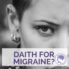 I have been reading about this 'treatment', if you can call it that, for ages now. Daith piercing for migraines is a load of bollocks. Click here to see why.