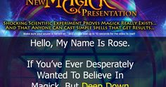 http://ift.tt/2uVk79u ==>Simple Spell Casting System E-Kit magick really existsSimple Spell Casting System E-Kit : http://ift.tt/2wl2bmy  Are you interested in magick? Do you want to learn how to perform magickal spells to achieve your desires and transform your life? If you answered 'yes' to those questions then Rose Ariadne's Simple Spell Casting System E-Kit is a perfect resource for you. This package is loaded with the tools and information that you will need to cast a successful spell…