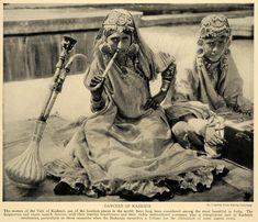 Dancers of Kashmir.