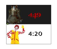 Instagram Meme Pennywise The Clown From Stephen Kings It And Ronald McDonald Clown Humor