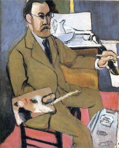 Self-portrait, 1918 - Henri Matisse (French, 1869-1954)
