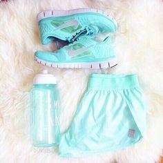 Imagem de nike, blue, and fitness