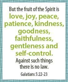 This family devotion from Thriving Family will help teach kids about the fruit of the Spirit.