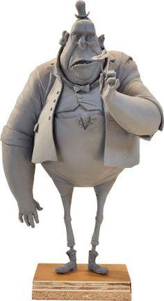 Kent Melton - Animation Art:Maquette, The Boxtrolls Mr. Trout Maquette (LAIKA, 2014)....