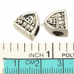 Zinc Alloy House Large Hole Beads,Plated,Cadmium And Lead Free,Various Color For Choice,Approx 11*11*7.5mm,Hole:Approx 4.5mm,Sold By Bags,No 010126