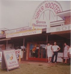 First store in Toowoomba Chicken And Chips, Barbecue Chicken, Rooster, Nostalgia, Just For You, Memories, Store, Centre, Awesome