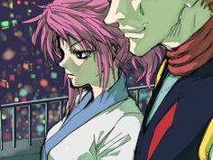Machi and hisoka Hunter x Hunter