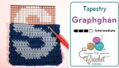 Crochet Tapestry Graphghans + Tutorial
