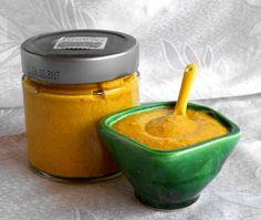 Mustár házilag Naan, Cotton Candy, Pesto, Food, Storage, Purse Storage, Essen, Larger, Meals