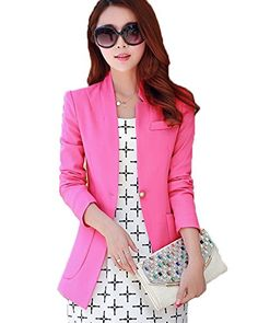 My Wonderful World Women's Office OL 1 Button Suit Small Rose Red My Wonderful World Blazer Coat Jacket http://www.amazon.com/dp/B015XPFYV6/ref=cm_sw_r_pi_dp_R63cwb1P09THN