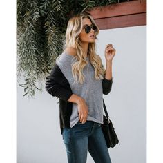 5b3f9d0241b7b casual fashion US-Women-Long-Sleeve-Sweater-Casual-Blouse-Lady-Loose-Shirt -Hooded-Pullover-Tops    Check this amazing product by going to the link at  the ...