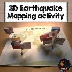 Earthquake Map interactive activity