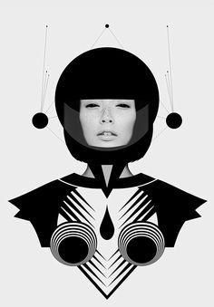 Dark Homonyms: Illustrations by Nikoloz Bionika – Inspiration Grid   Design Inspiration