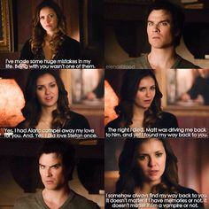 "#TVD 6x13 ""The Day I Tried To Live"" - Elena and Damon"
