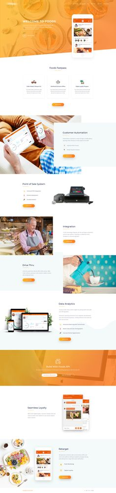 App landing page by asif