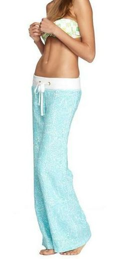 Lilly Pulitzer Linen Beach Pant... I actually have these but in a different color!!