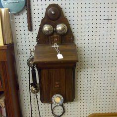 Antique phone - Holly, MI Antique Shop