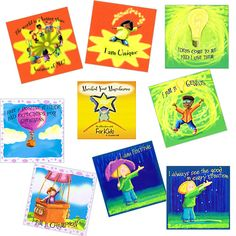 Child Therapy Toys - Manifest Your Magnificence - 64 Affirmation Cards for Kids
