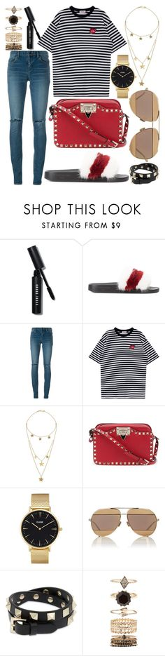 """""""531."""" by plaraa on Polyvore featuring Bobbi Brown Cosmetics, Givenchy, Yves Saint Laurent, Made, Valentino, CLUSE, Christian Dior and Accessorize"""