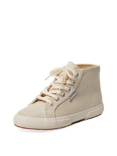 Metallic Canvas Hi Top from Kicking It: Casual Sneakers on Gilt