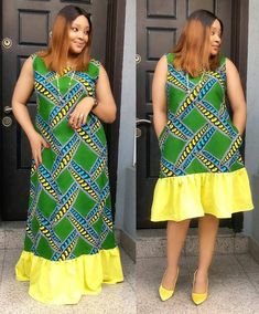 Short and Long Ankara Maternity Gown Styles - African Fashion Styles African Lace Styles, Short African Dresses, Ankara Short Gown Styles, Short Gowns, Ankara Gowns, African Fashion Ankara, Latest African Fashion Dresses, African Print Fashion, Nigerian Dress Styles