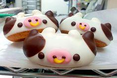 Doughnuts that make their own milk! Finally. (Doughnuts from 日本 Floresta Nature)