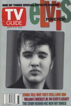 Old TV Guide Covers | Elvis Presley TV Guide - Special Effects Elvis Covers USA MAGAZINE 3 X ...
