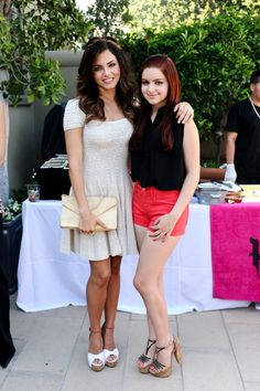 Jenna Dewan, Jordana Brewster spotted at JustFab pool party