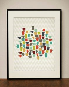 Cuadro tazas de café http://www.philipssenseo.com.ar/ - http://www.facebook.com/PhilipsSenseoArgentina