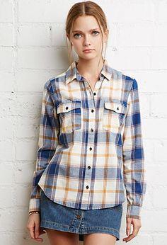 Tartan Plaid Shirt | Forever 21 - 2000141905
