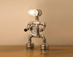 PIPESTORY Pipe lamp / Copper lamp / industrial by PipeStoryLamp