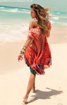 India Style -Vestidos playeros 2013.
