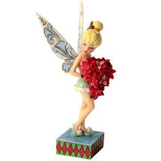 Figurine Fée Clochette Noël - Holiday Bloom Disney Traditions by Jim Shore