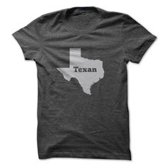 Texan - If you were born in Texas - then this is perfect for you to wear! (Funny Tshirts)