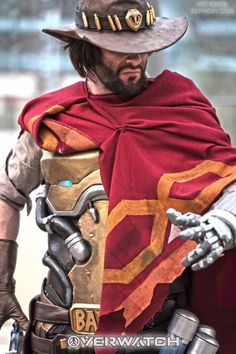 theomeganerd:  Overwatch - McCree Cosplay by Zephon Cos