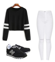 """""""Outfit"""" by vicky-skoufh on Polyvore featuring New Balance"""