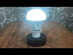 free energy electricity generator using Magnet and copper wire self running 12v light Bulb 2018 - YouTube